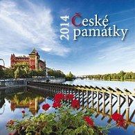 České památky - nástěnný kalendář 2014