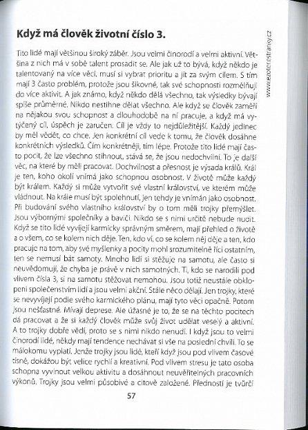 Náhled Karmické zadání podle životních čísel - Učebnice numerologie - II. díl