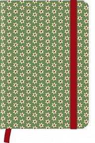 The Comstocks - GreenJournal malý (10x15cm)