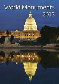 Kalendář nástěnný 2013 - World Monuments