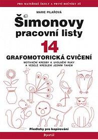 Šimanovy pracovní listy 14 - grafomotorická cvičení