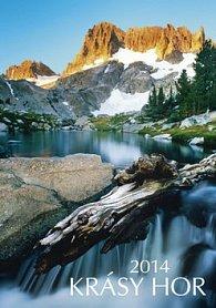 Krásy hor - nástěnný kalendář 2014