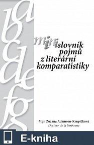 Minislovník pojmů z literární komparatistiky (E-KNIHA)