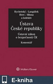 Ústava České republiky. Zákon o bezpečnosti České republiky. Komentář (E-KNIHA)