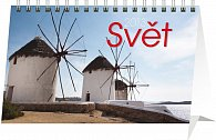 Kalendář 2013 stolní - Svět, 23,1 x 14,5 cm