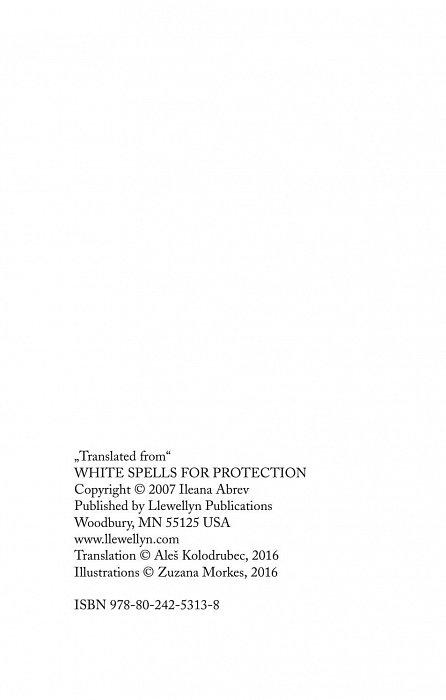 Náhled Bílá magie – ochranná kouzla