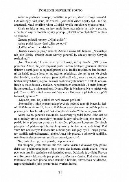 Náhled Kronika Netesaného trůnu III. - Poslední smrtelné pouto
