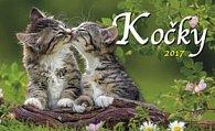 Kočky 2017 - stolní kalendář