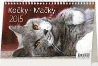 Kalendář stolní 2015 - Kočky
