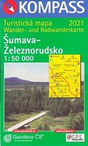 Šumava-Železnorudsko 1:50000
