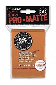 UltraPRO: 50 DP PRO Matte obaly - oranžová