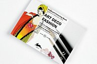 Art Deco Fashion: Postcard Colouring Book