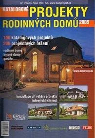 Katalogové projekty rodinných domů 2005