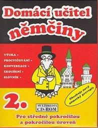 CD ROM Domácí učitel němčiny 2.díl