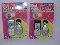 Mobilní telefon s přívěskem na klíče, 3asst