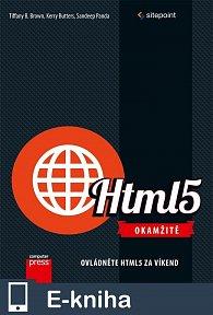 HTML5 Okamžitě (E-KNIHA)