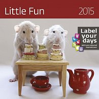 Kalendář nástěnný 2015 - Little Fun