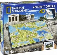4D City Puzzle Starověké Řecko