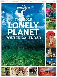 Kalendář 2013 nástěnný - Lonely Planet, 48 x 64 cm