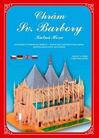 Chrám Sv. Barbory - Stavebnice papírového modelu