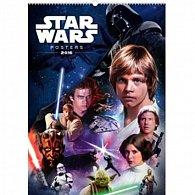 Kalendář nástěnný 2016 - Star Wars Classic - Posters,  33 x 46 cm
