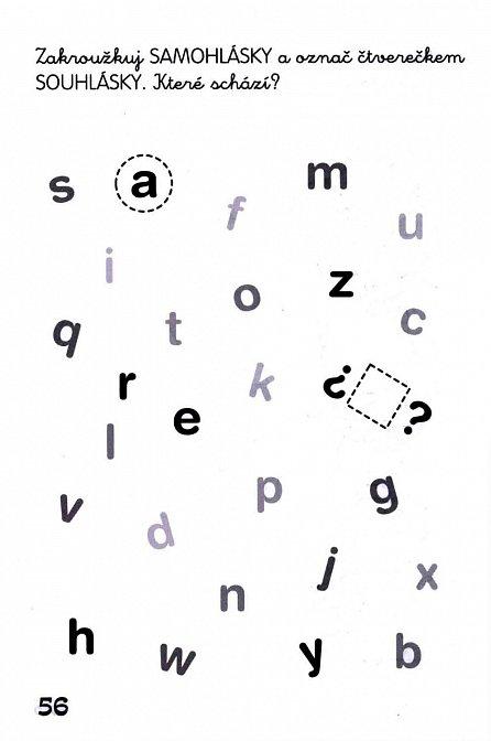 Náhled 103 zábavných úkolů pro malé školáky s písmeny