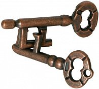 Kovový hlavolam - Nerozlučné klíče