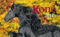 Koně  - Stolní kalendář 2014