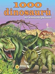 1000 dinosaurů se samolepkami - 2. vydání