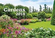 Kalendář nástěnný 2018 - Gardens 450x315