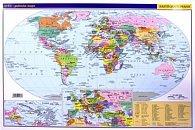 Svět - příruční politická mapa A3/1: 85 mil.