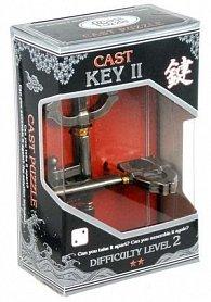 Hlavolam Hanayama Silver - Key II