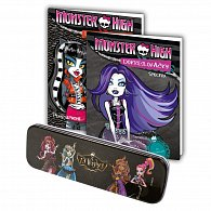 Monster High - Dokreslovačky - 2ks + penál