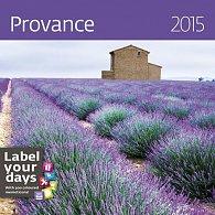 Kalendář nástěnný 2015 - Provence