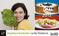 Kalendář stolní 2013 - Zapálená kuchařka Lenka Požárová