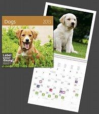 Dogs - nástěnný kalendář 2013
