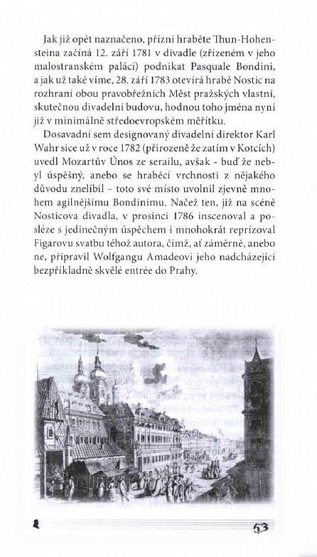 Náhled Mozartovy pražské noci - Tři drobná nokturna na velké rokokové téma