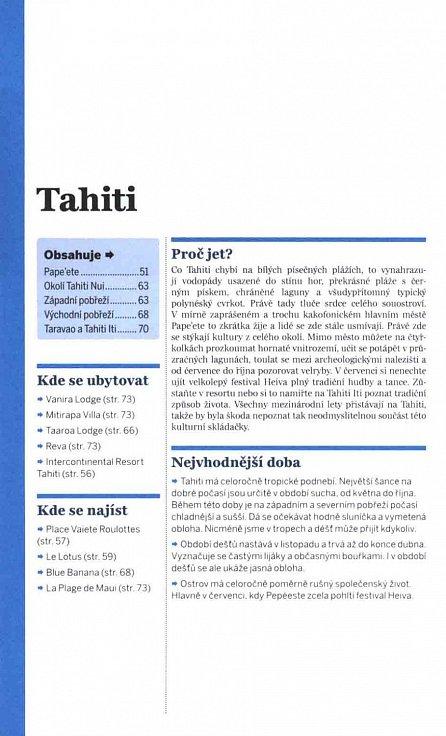 Náhled Tahiti a Francouzská Polynésie - Lonely Planet