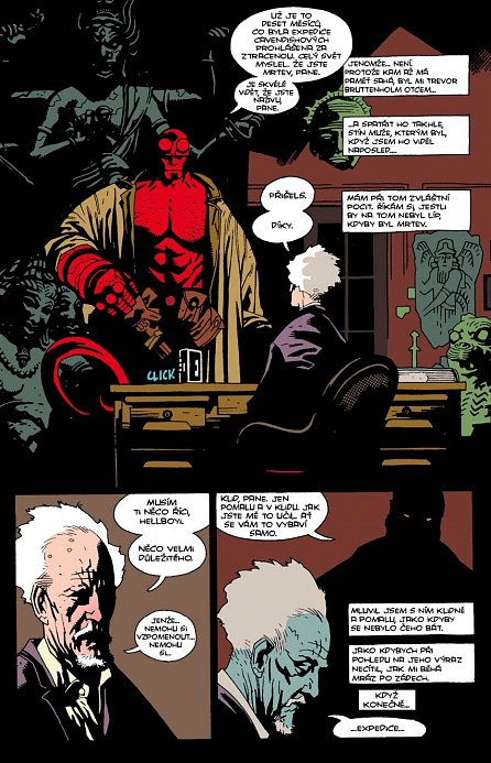 Náhled Hellboy 1 - Sémě zkázy