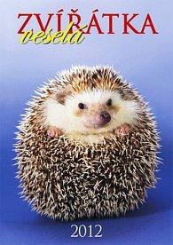 Kalendář 2012 - Veselá zvířátka - nástěnný