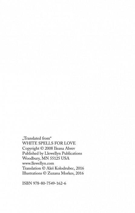 Náhled Bílá magie – kouzla pro lásku