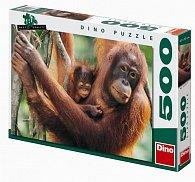Orangutani - puzzle 500 dílků