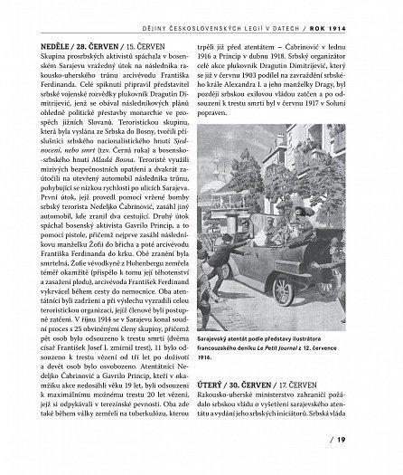 Náhled Dějiny československých legií v datech