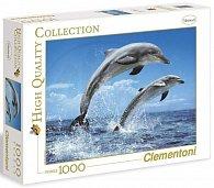 Puzzle Clementoni Delfíni 1000 dílků