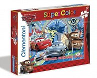 Puzzle Supercolor Auta 2 2x20 dílků