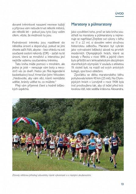 Náhled Trénujeme na maraton a půlmaraton - Jak zlepšit výkon ve vytrvalostním běhu