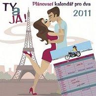 Plánovací Ty & já 2011 - nástěnný kalendář
