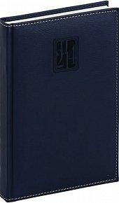 Diář 2014 - Grande - Denní B6, tmavě modrá (ČES, SLO, ANG, NĚM)