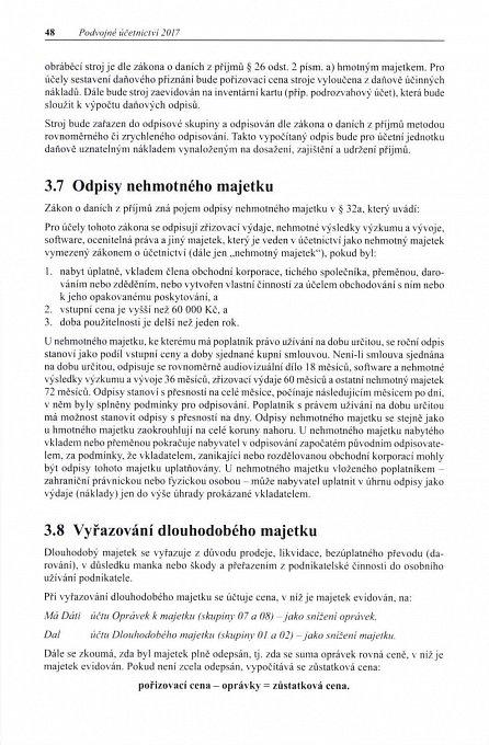 Náhled Podvojné účetnictví 2017