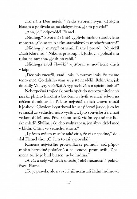 Náhled Vědma - Tajemství nesmrtelného Nicolase Flamela - 2. vydání